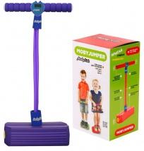 Тренажер для прыжков MobyJumper со счетчиком, светом и звуком, фиолетовый