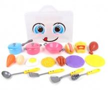 Игровой набор Хозяйка в чемоданчике 19 предметов