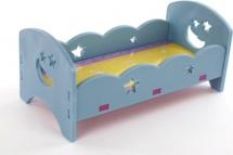 Кроватка для куклы сборная, в ассорт.