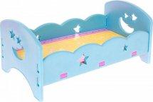 Кроватка для куклы сборная для кукол до 45 см