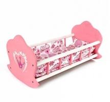 Кроватка-люлька для куклы Mary Poppins Корона