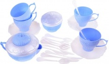 Набор посуды Нордпласт Волшебная хозяюшка 24 предмета