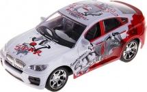 Машина Пламенный мотор BMW Уличные гонки световые и звуковые эффекты, красный