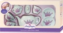Набор фарфоровой посуды Mary Poppins Корона 9 предметов