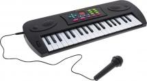 Синтезатор ABToys 37 клавиш с дисплеем, черный