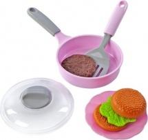 Набор посуды Mary Poppins в сумке, розовый