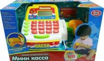 Мини-касса Play Smart со сканером и карточками