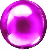 """Воздушный шарик Сфера 3D 20""""/51 см, фуксия"""