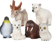 Игрушки для купания Весна Животные Арктики