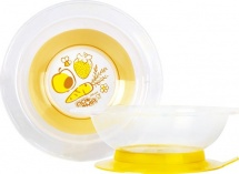 Тарелка Пома Большая желтая 240 мл