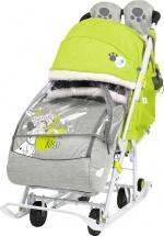 Санки-коляска Ника Disney baby 2, с Далматинцами лимонный