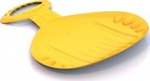 Ледянка Нордпласт фигурная, желтый