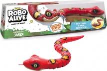 Робо-Змея ZURU, красная