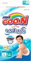 Подгузники Goon L (9-14 кг) 54 шт