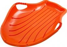 Санки-Ледянка ТД Пластик Снежный скат, оранжевый