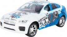 Машина Пламенный мотор BMW Уличные гонки световые и звуковые эффекты, синий