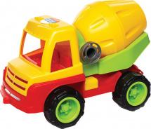 Бетоновоз Zebratoys Constructor резиновые колеса