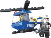 Конструктор Ausini Полиция 47 деталей