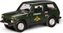 Машинка AutoTime Lada 4x4 Спецназ