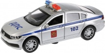 Полиция Технопарк VW Passat световые и звуковые эффекты,открывающиеся двери