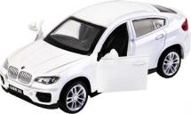 Машинка Автопанорама BMW X6 белый