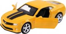 Машинка Автопанорама Chevrolet Camaro SS желтый