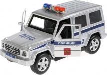 Полиция Технопарк Mercedes-Benz G-Class световые и звуковые эффекты