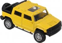 Модель машины AutoTime USA Heavy Allroad 1:36, желтый