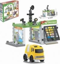 Игровой набор Автозаправочная станция 50 деталей