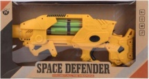 Бластер Space Defender с мягкими пулями и световыми эффектами