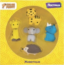 Набор ластиков Color Puppy Животные