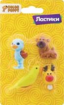 Набор ластиков Color Puppy Мир животных
