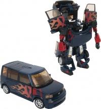 Трансформер Робот-машина, синий