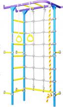 Шведская стенка Romana S4, сиренево-голубой