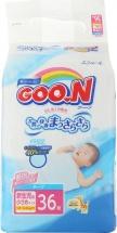 Подгузники Goon NB (1,8-3 кг) 36 шт