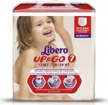 Трусики Libero Up&Go 7 (16-26 кг) 12 шт