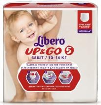 Трусики Libero Up&Go 5 (10-14 кг) 68 шт