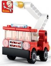 Конструктор Sluban Пожарный автомобиль 43 детали