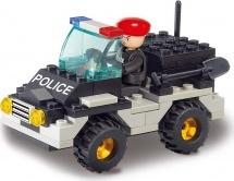 Конструктор Sluban Полиция. Штабная машина 88 деталей