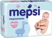 Подгузники Mepsi NB (2-6 кг) 30 шт