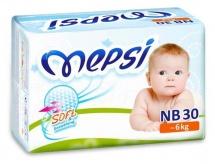 Подгузники Mepsi NB (0-6 кг) 30 шт