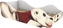 Кровать-зверюшка Полярный мишка Умка