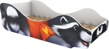 Кровать-зверюшка Енот Кусака