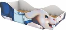 Кровать-зверюшка Заяц Морячок