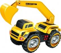 Экскаватор Handers Большие колеса световые и звуковые эффекты