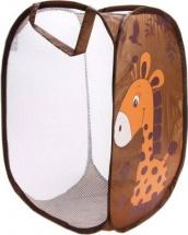 Корзина для игрушек Жирафик без крышки