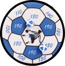 Дартс детский Футбольный мяч шарики на липучке