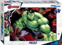 Пазлы Steppuzzle Marvel 2 Мстители Халк 54 элемента