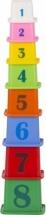 Пирамидка Совтехстром Логический набор Башня 8 элементов