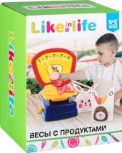 Игровой набор Весы с продуктами S+S Toys  Like in life